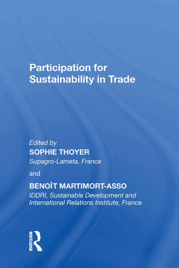 Participation for Sustainability in Trade book cover