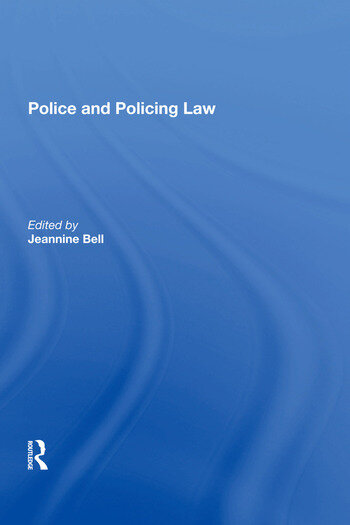 Police and Policing Law book cover