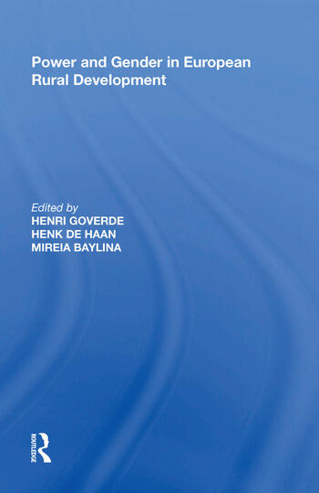 Power and Gender in European Rural Development book cover