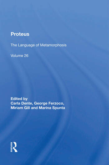 Proteus The Language of Metamorphosis book cover
