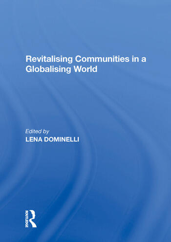 Revitalising Communities in a Globalising World book cover