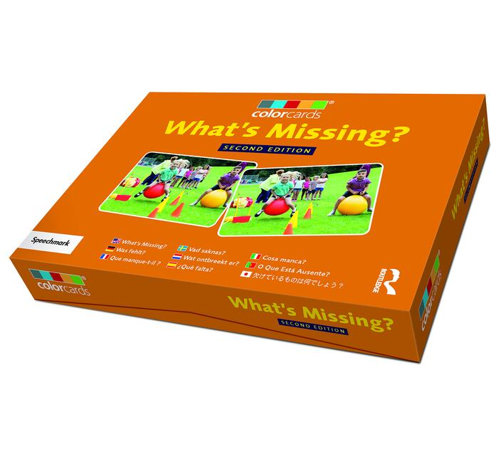 What's Missing?: Colorcards 2nd Edition book cover