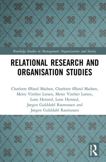 Relational Research and Organisation Studies book cover