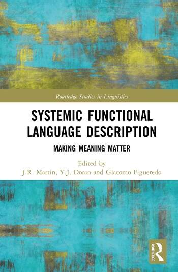 Systemic Functional Language Description Making Meaning Matter book cover