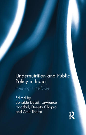 Undernutrition and Public Policy in India Investing in the future book cover