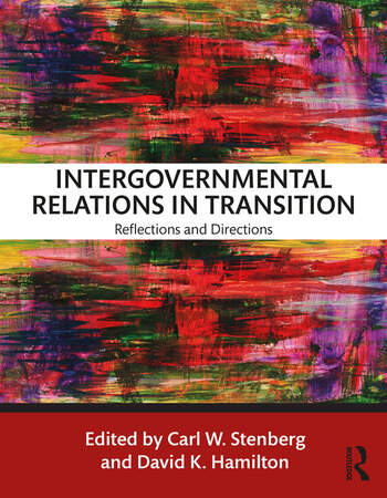 Intergovernmental Relations in Transition Reflections and Directions book cover