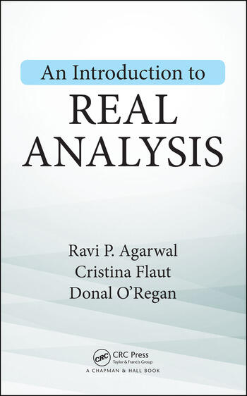An Introduction to Real Analysis book cover