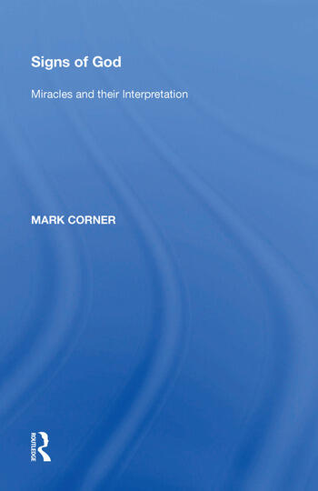 Signs of God Miracles and their Interpretation book cover