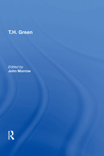 T.H. Green book cover