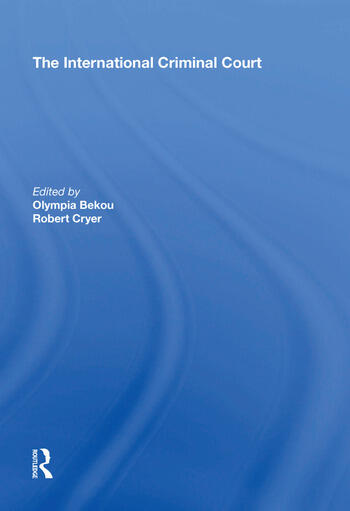 The International Criminal Court book cover