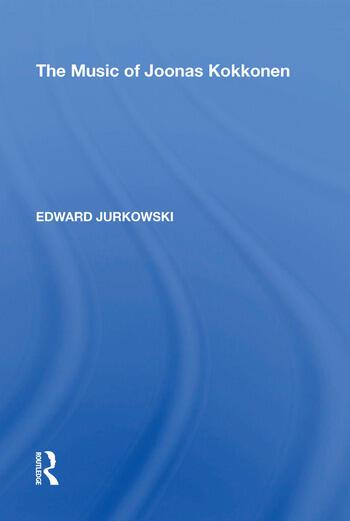 The Music of Joonas Kokkonen book cover
