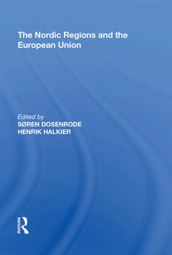 The Nordic Regions and the European Union book cover