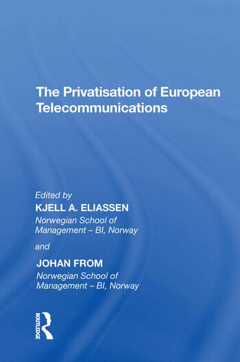 The Privatisation of European Telecommunications book cover