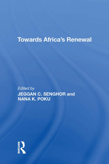 Towards Africa's Renewal book cover