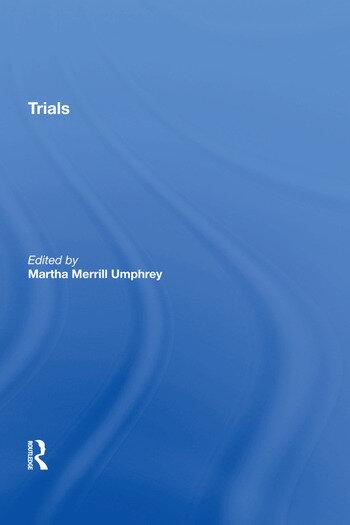 Trials book cover