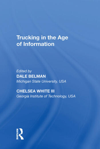 Trucking in the Age of Information book cover