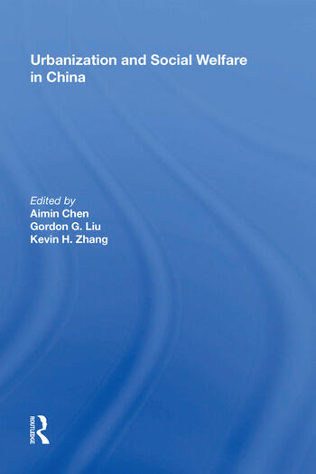 Urbanization and Social Welfare in China book cover