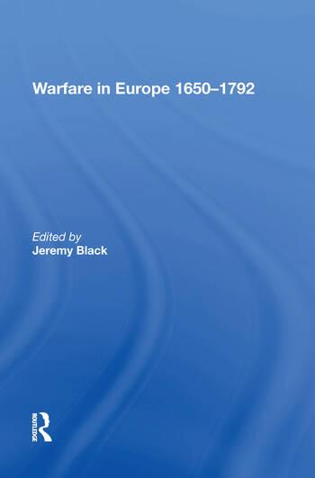 Warfare in Europe 1650�1792 book cover