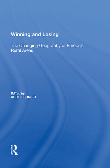 Winning and Losing The Changing Geography of Europe's Rural Areas book cover