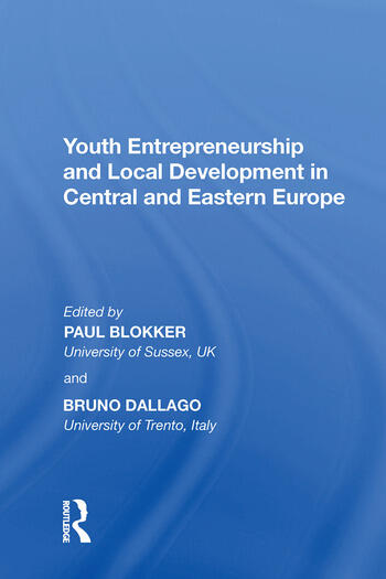 Youth Entrepreneurship and Local Development in Central and Eastern Europe book cover