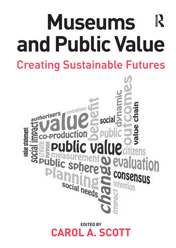 Museums and Public Value Creating Sustainable Futures book cover