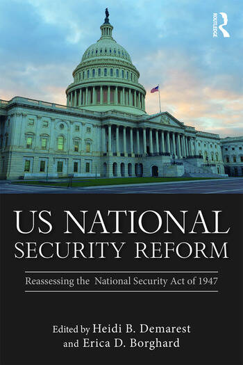 US National Security Reform Reassessing the National Security Act of 1947 book cover