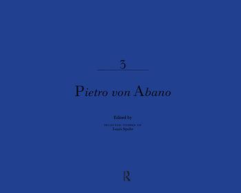 Pietro Von Abano book cover