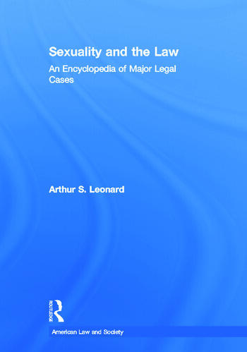Sexuality and the Law American Law and Society book cover