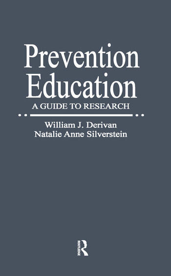 Prevention Education A Guide to Research book cover