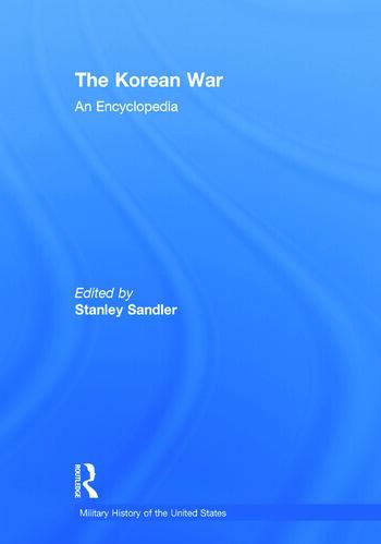 The Korean War An Encyclopedia book cover