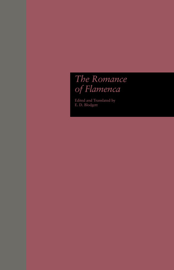The Romance of Flamenca book cover