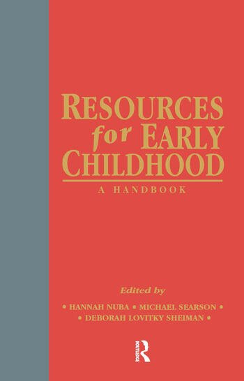 Resources for Early Childhood A Handbook book cover