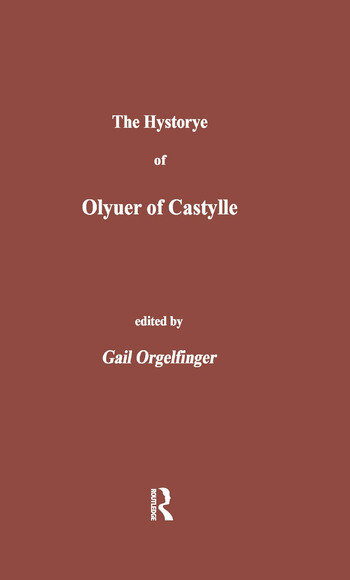 The Hystorye of Olyuer of Castylle book cover