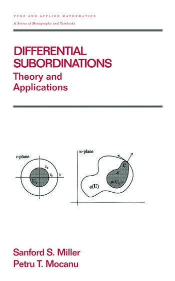 Differential Subordinations Theory and Applications book cover
