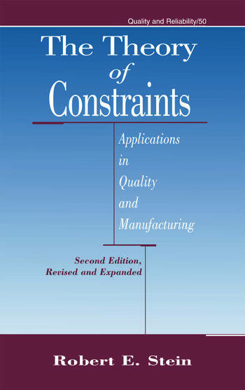 a summary of theory of constraints Theory of constraints what is the theory of constraints the idea behind the theory of constraints is that every process carried out has a constraint.