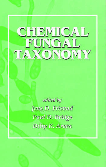 Chemical Fungal Taxonomy book cover