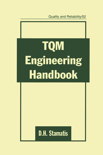 TQM Engineering Handbook book cover