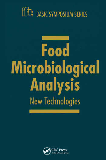 Food Microbiology and Analytical Methods New Technologies book cover
