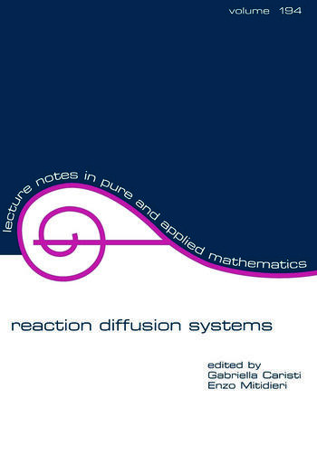 Reaction Diffusion Systems book cover