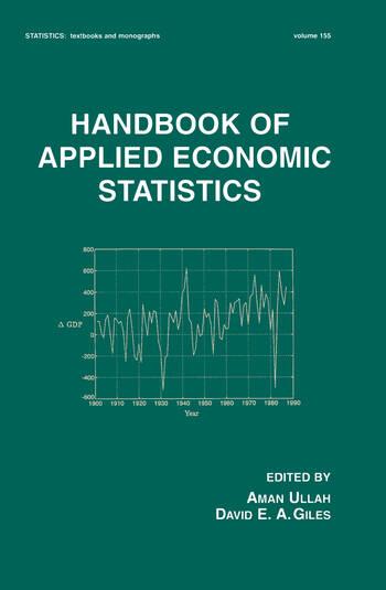 Handbook of Applied Economic Statistics book cover