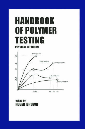 Handbook of Polymer Testing Physical Methods book cover