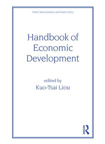 Handbook of Economic Development book cover
