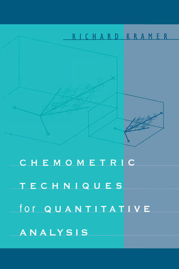 Chemometric Techniques for Quantitative Analysis book cover