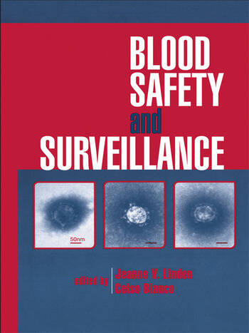 Blood Safety and Surveillance book cover