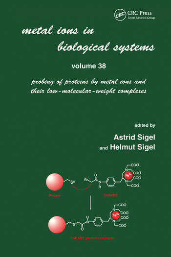 Metal Ions in Biological Systems Volume 38: Probing of Proteins by Metal Ions and Their Low-Molecular-Weight Complexes book cover