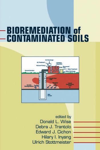 Bioremediation of Contaminated Soils book cover