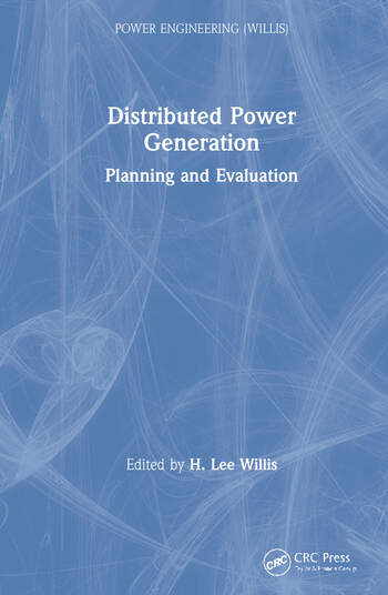 Distributed Power Generation Planning and Evaluation book cover