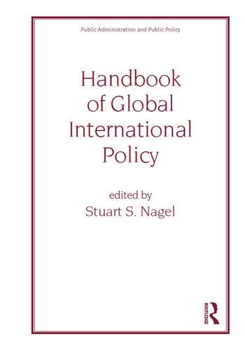 Handbook of Global International Policy book cover