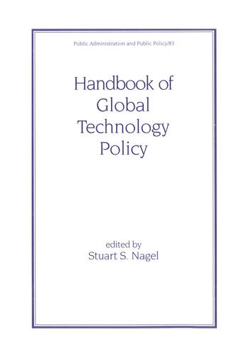 Handbook of Global Technology Policy book cover