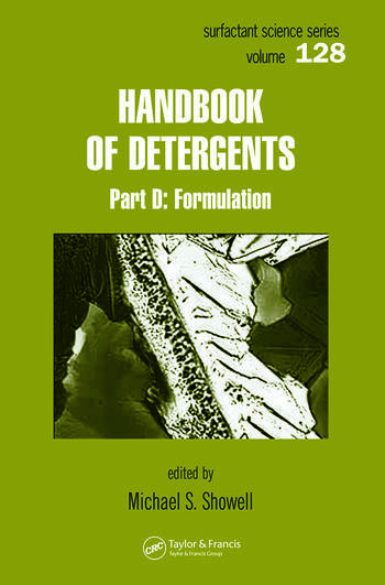 Handbook of Detergents, Part D Formulation book cover
